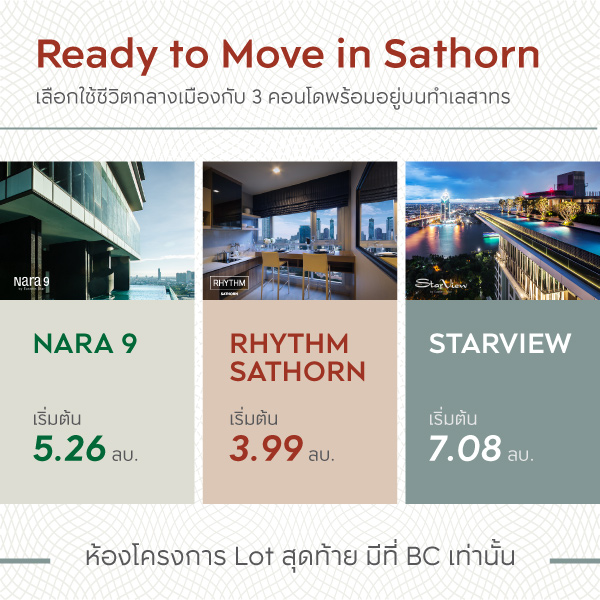 READY TO MOVE IN SATHORN
