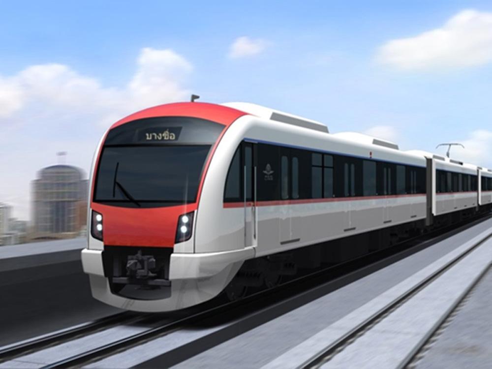 ... และ รถไฟฟ้าสีแดงอ่อนช่วงตลิ่งชัน-บางซื่อ  เป็นอีกหนึ่งโครงการที่เชื่อมโยงฝั่งพระนครและธนบุรี เชื่อมต่อกับ รถไฟฟ้าสายสีเขียวอ่อนสถานีตลิ่งชัน มีจำนวน 3 ...