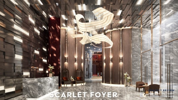 scarlet foyer